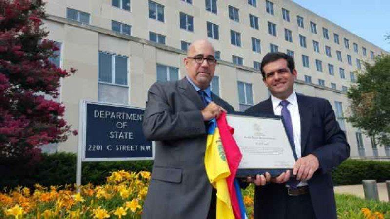 El Foro Penal Venezolano recibe premio del gobierno de Estados Unidos de Norteamérica a los defensores de derechos humanos.