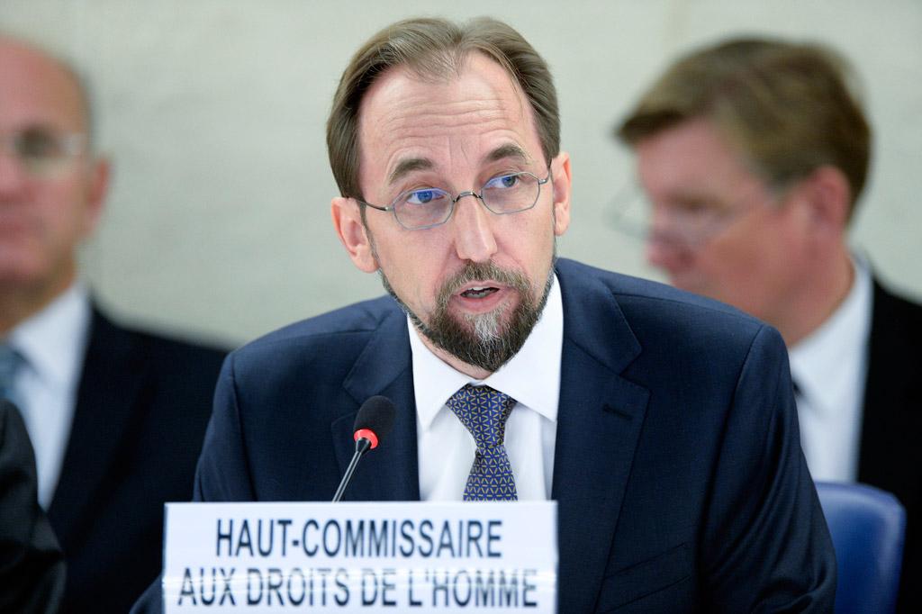 Alto Comisionado se dirigió al Consejo de Derechos Humanos en la apertura de su 36º sesión