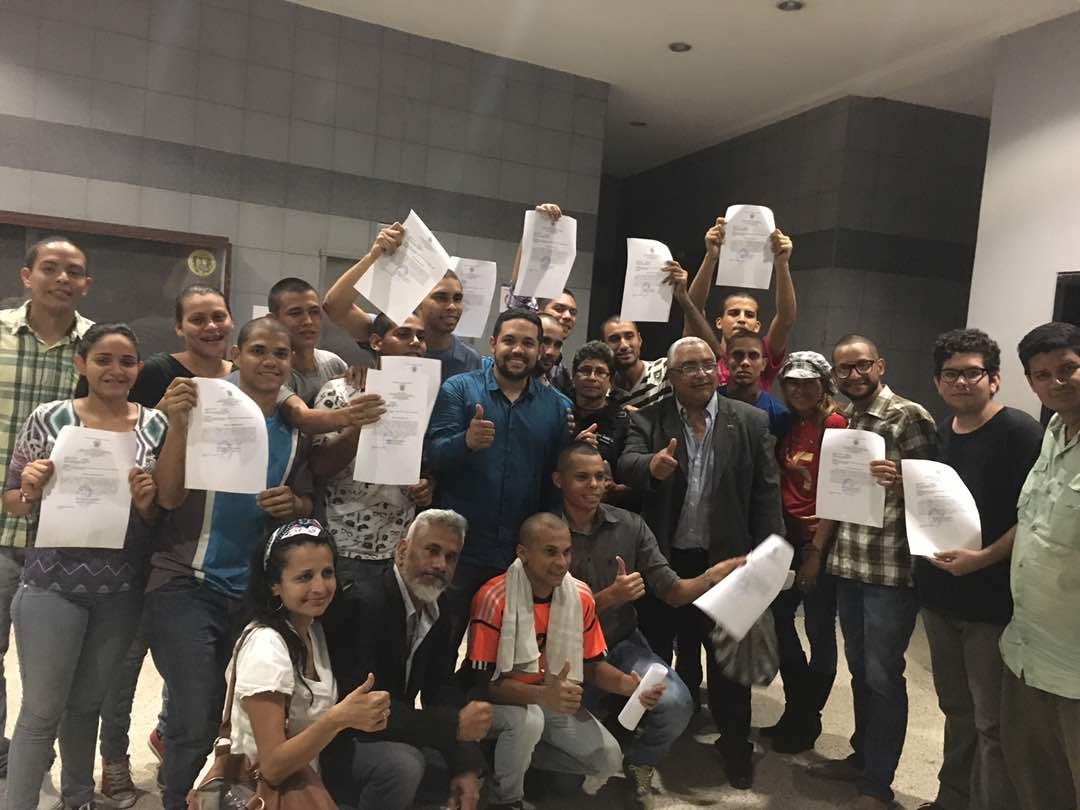 Liberados 22 Estudiantes de la UPEL
