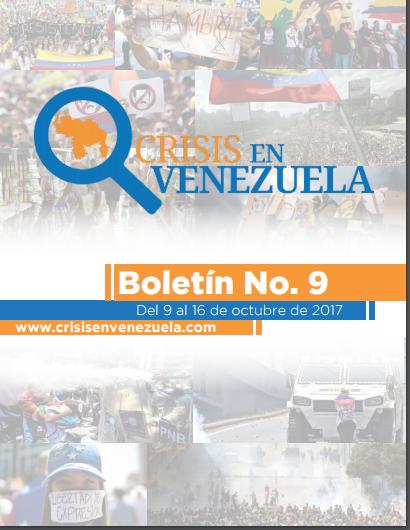Crisis en Venezuela. Boletín 9
