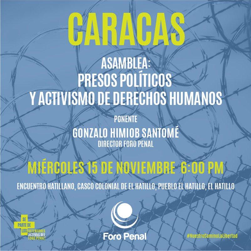 Presos Políticos y Activismo de Derechos Humanos, El Hatillo