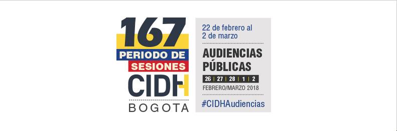 CIDH 167 Período de Sesiones. Bogotá. Colombia. Seguridad Ciudadana