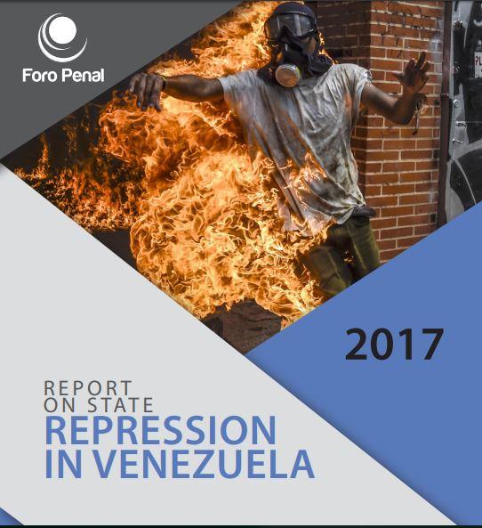 Report on State Represion in Venezuela. 2017