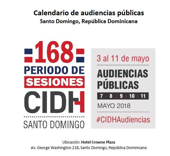 CIDH: Audiencia Pública sobre Venezuela y la Justicia militar