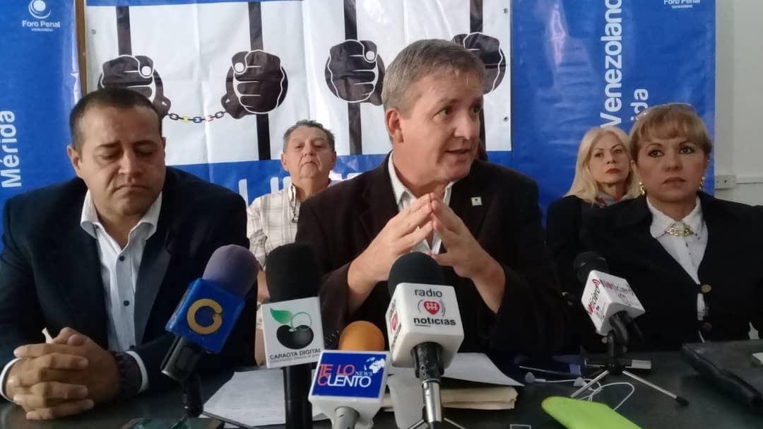 Foro Penal afirma que bomberos arrestados en Mérida son presos políticos