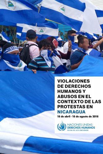 ONU. Violaciones de Derechos Humanos en el contexto de las protestas en Nicaragua