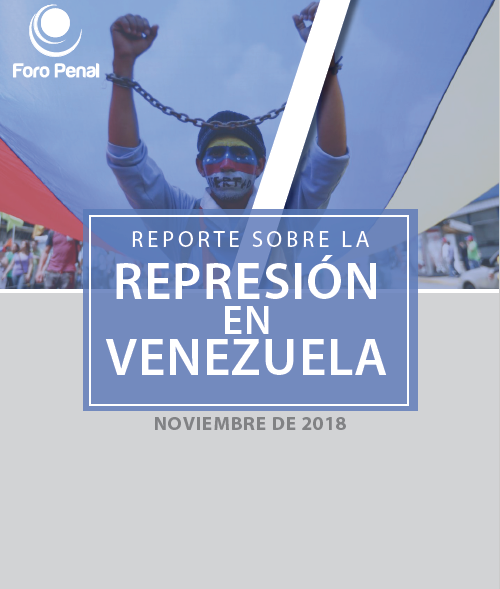 Reporte sobre la Represión en Venezuela. Noviembre 2018