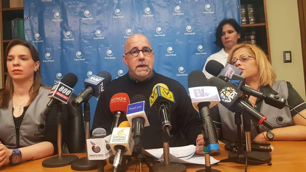 Foro Penal denuncia represión, detenciones arbitrarias y violenta requisa en Ramo Verde
