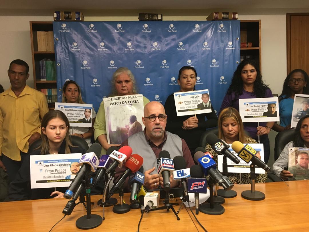Foro Penal: Familiares de presos políticos en Venezuela piden liberaciones antes de la Navidad