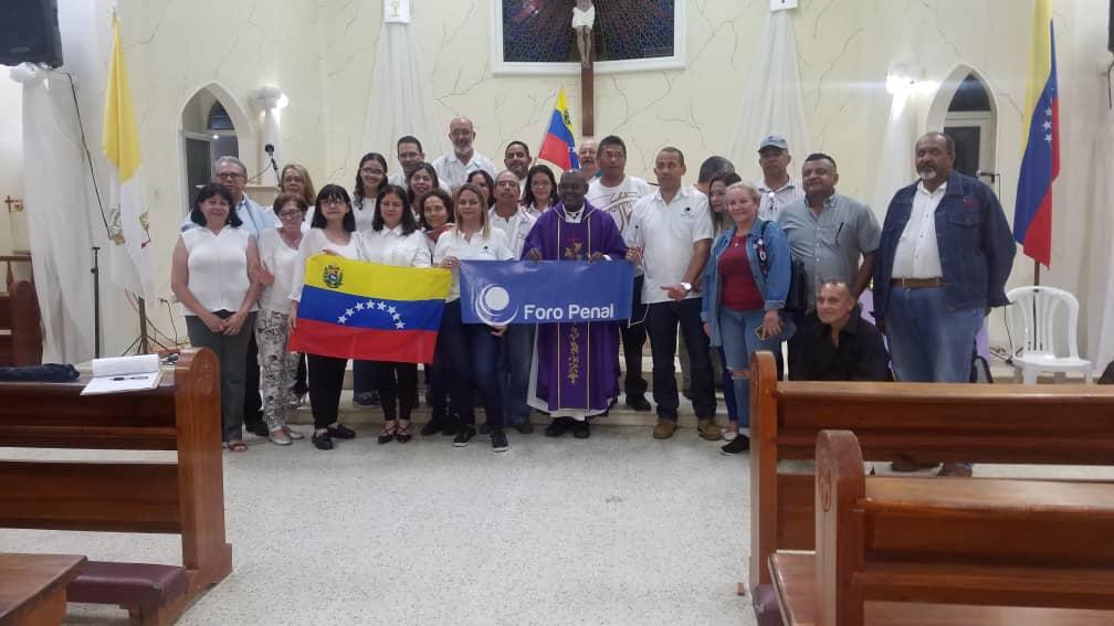 Misa Por Los Presos Políticos y Caídos en Puerto Ordaz -Bolívar