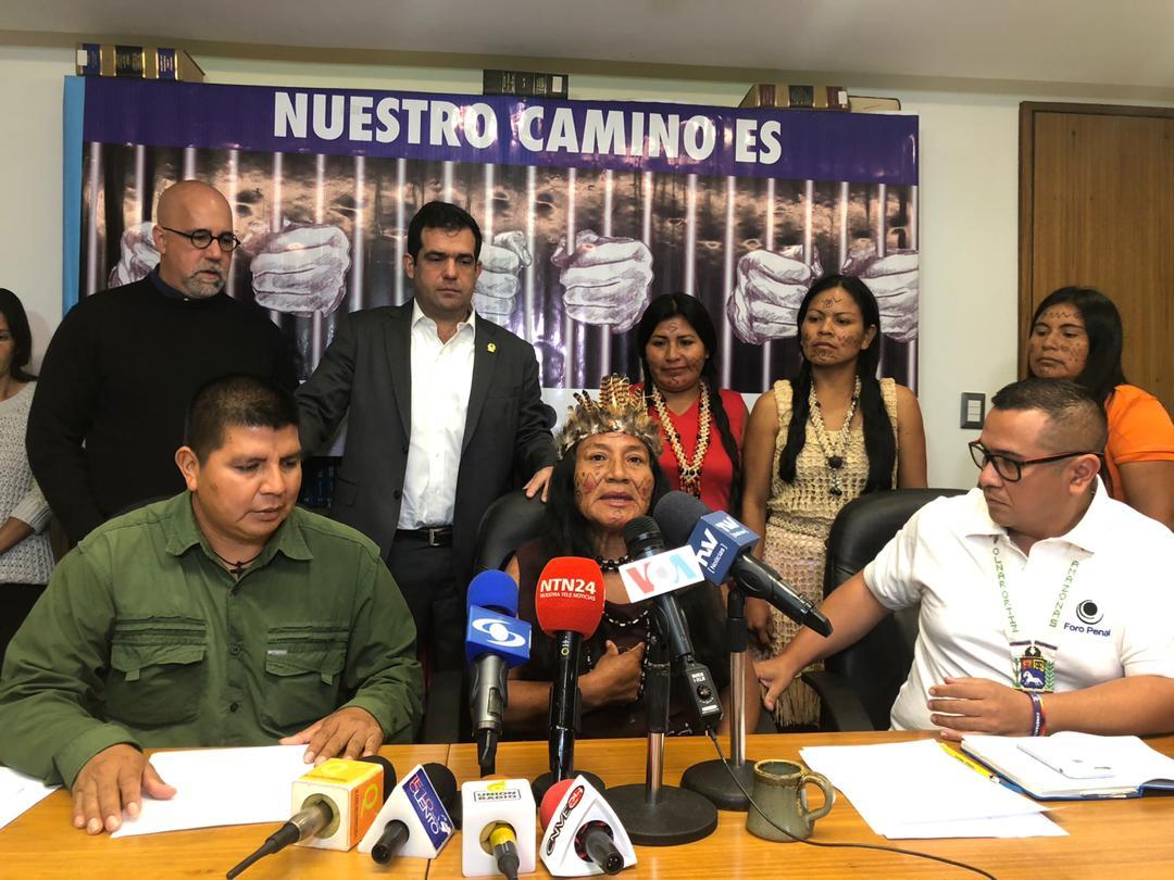 """Foro Penal denuncia """"Maquinaria de represión contra Pueblos Indígenas"""""""