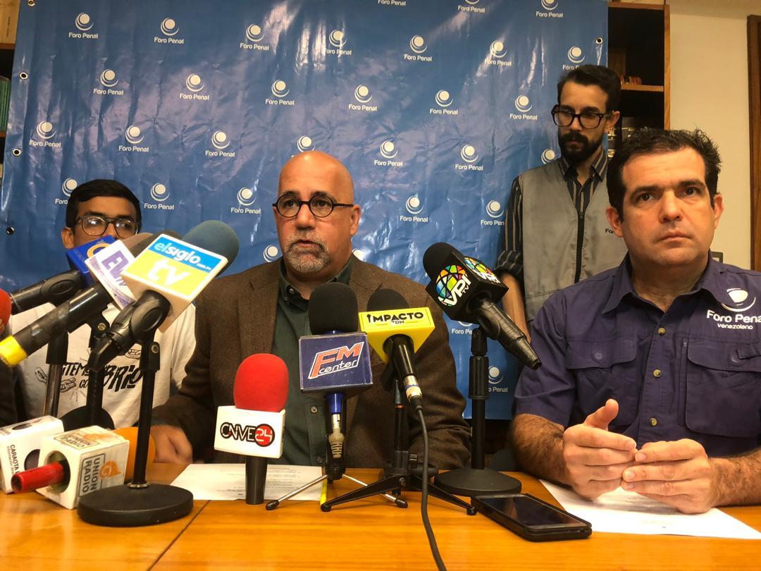 Foro Penal: Solo han sido excarcelados 5 presos políticos en las últimas 24 horas