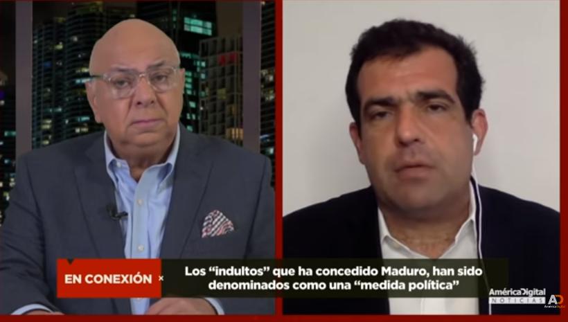 Alfredo Romero, Director del Foro Penal , habla de las recientes excarcelaciones