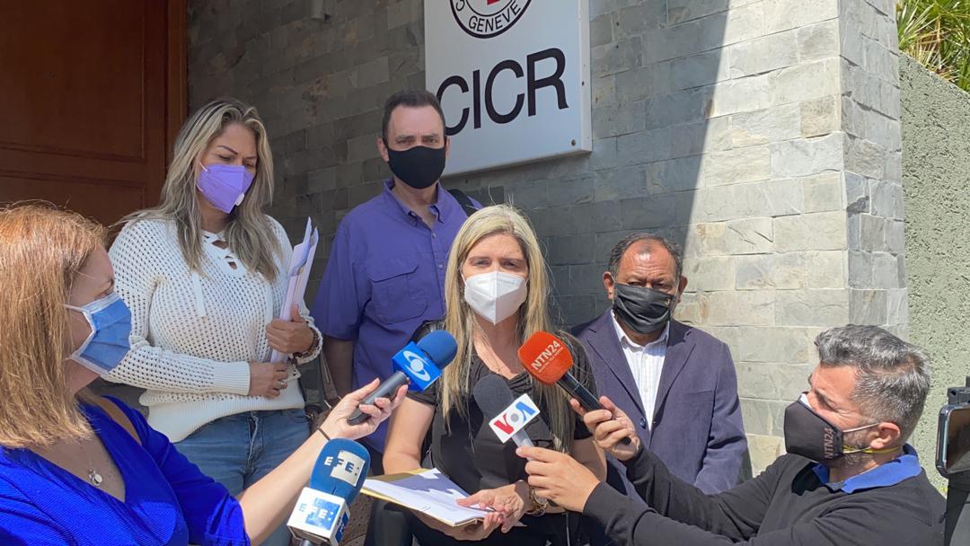Familiares de presos políticos expresan decepción por actuación del CICR sobre situación de presos políticos en Venezuela