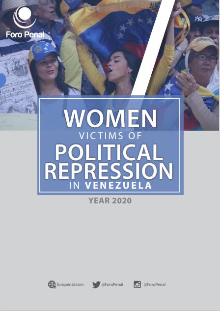 Women Victims of Political Repression in Venezuela 2020